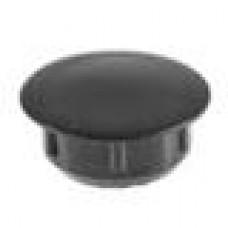 Заглушка пластиковая круглая под отверстие d12, коричневый (RAL 8003)