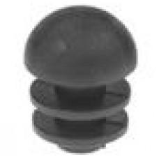 Пластиковая внутренняя заглушка со сферической шляпкой для труб с внешним диаметром 16 мм и стенкой 0.8-3.0 мм.