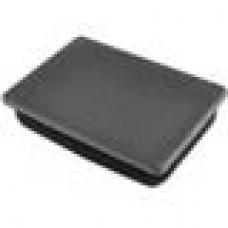 Заглушка пластиковая прямоугольная 100х140, практичная, Серия ILR, стенка 2.0-4.5 мм, чёрная