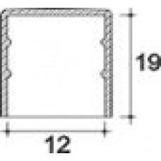 Заглушка пластиковая круглая d12 мм, наружная, Серия TXT, полупрозрачная