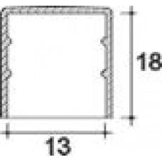 Заглушка пластиковая круглая d13 мм, наружная, Серия TXT, полупрозрачная
