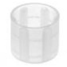 Заглушка пластиковая круглая d14 мм, наружная, Серия TXT, полупрозрачная