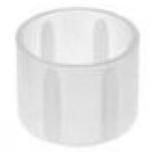Заглушка пластиковая круглая d17.2 мм, наружная, Серия TXT, полупрозрачная