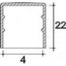 Заглушка пластиковая круглая d4 мм, наружная, Серия TXT, полупрозрачная