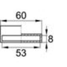 Латодержатель пластиковый пристреливающийся для лат сечением 8х53 мм.