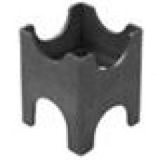 Опора пластиковая для арматуры диаметром 4-28 мм. Толщина стенки — 1,6 мм.