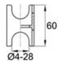 Опора пластиковая для арматуры диаметром 4-28 мм. Толщина стенки — 2.1 мм. Применяется при возведении горизонтальных монолитных конструкций (фундамента, плит перекрытий, полов и др