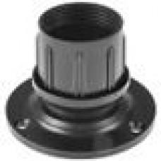 Опора пластиковая регулируемая для трубы круглого сечения с внешним диаметром сечения 51 мм.