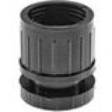 Опора пластиковая регулируемая для трубы круглого сечения с внешним диаметром сечения 51 мм и толщиной стенки трубы 0.8-1.0 мм.