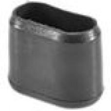 Заглушка пластиковая наружная для труб овального сечения с внешними габаритами сечения 10х20 мм