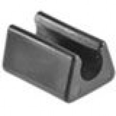 Подпятник пластиковый для труб или прутков круглого сечения с внешним диаметром сечения 8 мм