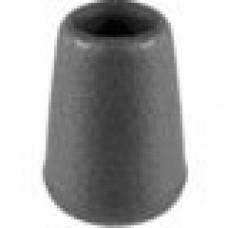 Заглушка пластиковая наружная для прутков круглого сечения диаметром 4 мм.