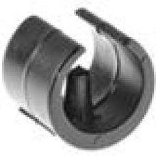 Опора пластиковая универсальная для трубы круглого сечения с внешним диаметром 20-22 мм, с выступом для фиксации