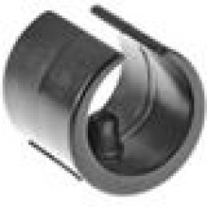 Опора пластиковая универсальная для трубы круглого сечения с внешним диаметром 28-30 мм, с выступом для фиксации