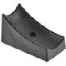 Подпятник пластиковый для труб круглого сечения с внешним диаметром сечения 20-25 мм.