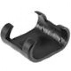 Подпятник пластиковый для труб или прутков овального сечения с внешним диаметром сечения 15х30 мм.
