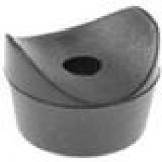 Подпятник пластиковый для труб круглого сечения с внешним диаметром сечения 20-22 мм.