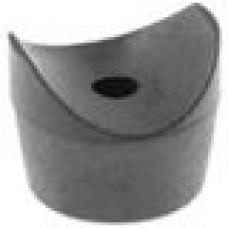 Подпятник пластиковый для труб круглого сечения с внешним диаметром сечения 22-25 мм.