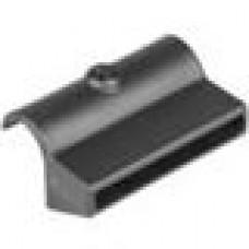Латодержатель пластиковый для лат 8х70 с креплением на трубу круглого сечения с внешним диаметром 25 мм.