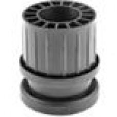 Опора пластиковая регулируемая для трубы круглого сечения с внешним диаметром сечения 60 мм и толщиной стенки 1 мм