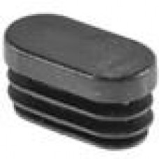 Заглушка пластиковая внутренняя для труб овального сечения с внешними габаритами сечения 15х30 мм и толщиной стенки трубы 0.8-2.0 мм.