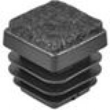 Заглушка пластиковая для труб квадратного сечения с габаритами 20x20 мм и толщиной стенки трубы 0.8-2.0 мм. Поставляется с фетровой подкладкой.