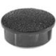 Заглушка пластиковая с тонкой шляпкой 25 мм для отверстия диаметром 23 мм.