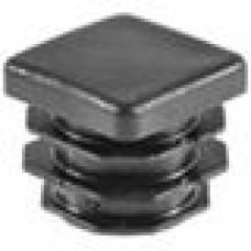 Заглушка пластиковая внутренняя с толстой шляпкой для труб квадратного сечения 25х25 мм.