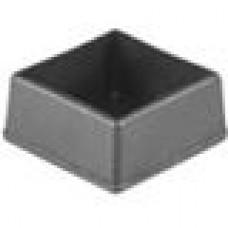 Заглушка пластиковая наружная для труб квадратного сечения с внешними габаритами сечения 30х30 мм