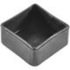 Заглушка пластиковая наружная для труб квадратного сечения с внешними габаритами сечения 50х50 мм
