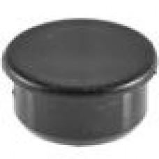 Заглушка пластиковая с тонкой шляпкой 23 мм для отверстия диаметром 20 мм.