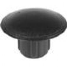 Заглушка пластиковая с тонкой шляпкой диаметром 10 мм для отверстия диаметром 5 мм.