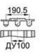 Заглушка для фланца ДУ100 (4