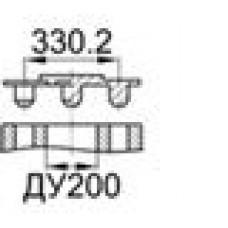 Заглушка для фланца ДУ200 (8