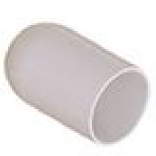 Термостойкая наружная заглушка для труб круглого сечения с внешним диаметром 21.5 мм. Подходит под резьбу М22, UNF 7-8