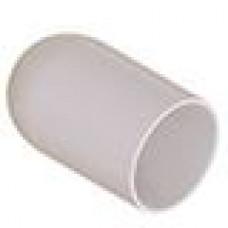 Термостойкая наружная заглушка для труб круглого сечения с внешним диаметром 25.4 мм. Подходит под резьбу М27, UNF 1