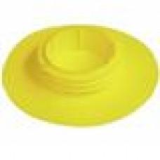 Заглушка пластиковая для шаровых кранов полностью закрывающая фланец корпуса крана. Используется с внутренним диаметром крана 118-131.7 мм и диаметром фланца 246 мм.
