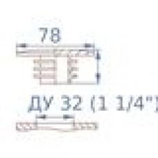 Заглушка пластиковая круглая под DN32 (1.1/4