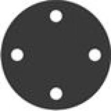Пластиковый диск диаметром 927.1 мм с четырьмя отверстиями. Применяется для фланца ДУ700 (28