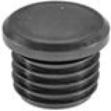 Заглушка пластиковая внутренняя с толстой шляпкой для труб круглого сечения ДУ40 мм