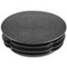 Заглушка пластиковая внутренняя с ребрами и тонкой шляпкой для труб круглого сечения с внешним диаметром сечения 40 мм и толщиной стенки трубы 1.0-3.0 мм.