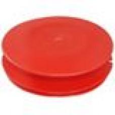 Заглушка пластиковая внутренняя с тонкой шляпкой для труб круглого сечения с внешним диаметром 110 мм