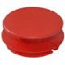 Заглушка пластиковая внутренняя с тонкой шляпкой для труб круглого сечения ДУ50.