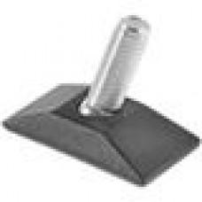 Опора резьбовая шарнирная с прямоугольным основанием 25x50 и металлической резьбой М10х25