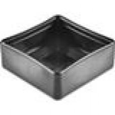Заглушка пластиковая наружная для труб квадратного сечения с внешними габаритами сечения 100х100 мм