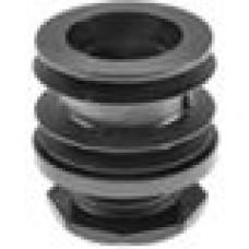 Опора пластиковая регулируемая резьбовым соединением М30x30 под трубу круглого сечения с внешним диаметром 50 мм, толщина стенки трубы 1.2-2 мм