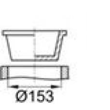 Универсальная пластиковая пробка конической формы.
