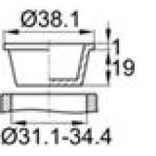 Пробка, изготовленная из полиэтилена низкой плотности. Может использоваться в гидравлических фитингах для защиты внутренней или наружной резьбы от коррозии и повреждений Диаметр заходящей части — 31,1-34,4 мм, внутренний диаметр — 29,8-32,8 мм.