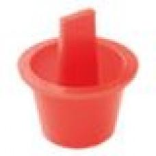 Универсальная пробка. Применима под отверстие диаметром 27.8–31 мм. Имеет вертикальную ручку для более удобного монтажа и демонтажа. Изготовлена из полиэтилена высокого давления.
