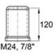 Пластиковый колпачок под болт/гайку M24.